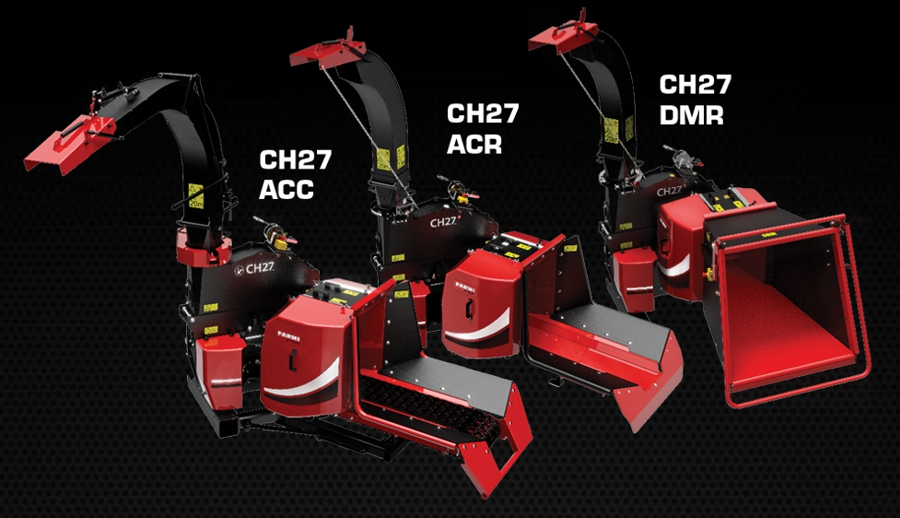 FarmiForest CH27 - The new generation of PTO-driven chippers