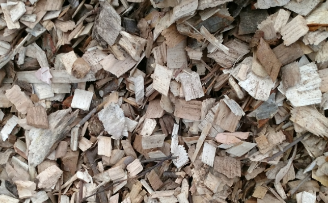 Biomass fuel wood-energy chips