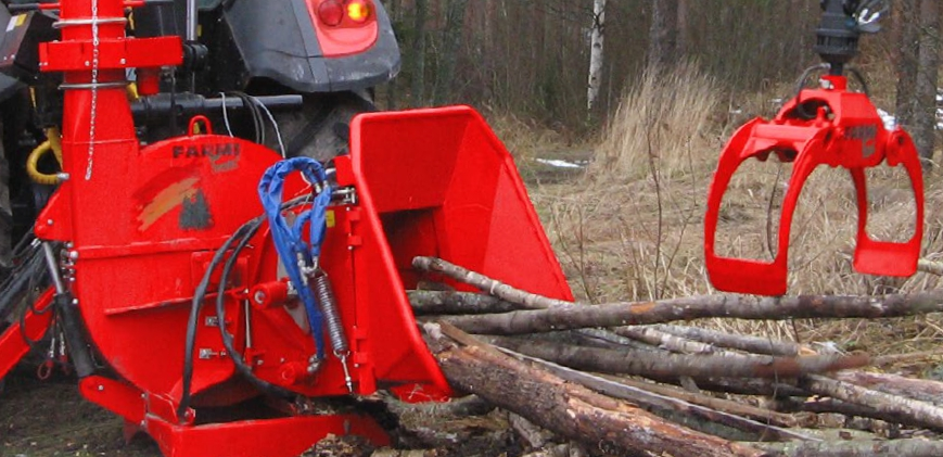 Efficient production made the CH260 the most sold chipper in Scandinavia